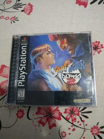 Street Fighter Alpha 2 Original Americano Ps1