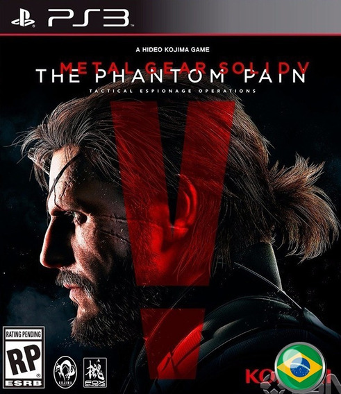 Metal Gear Solid V 5 The Phantom - Jogos Ps3 Play 3