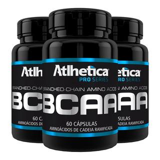 Bcaa - 3x 60 Cápsulas - Atlhetica