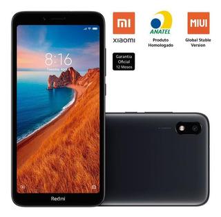 Smartphone Xiaomi Redmi 7a 32gb 2gb Ram 12mp Tela 5.45 Preto