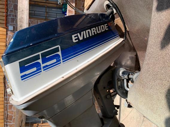 Lancha Hyundai Hawaii Con Motor Evinrude 55 Hp
