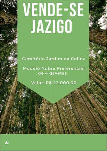 Imagem 1 de 4 de Vende-se Jazigo