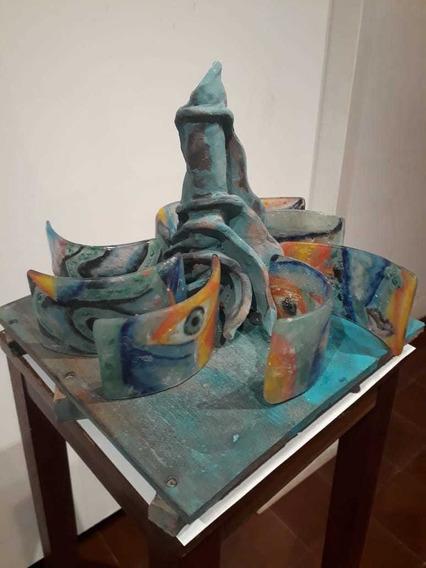 Esculturas De Ceramica Y Vidrio