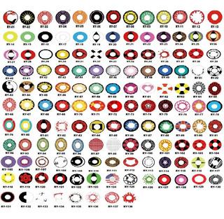 Lentes Contato Halloween Colorida Anuais Mais De 130 Modelos