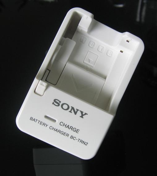 Carregador Original Câmera Sony Bc-trn2 - Baterias Np-bn1