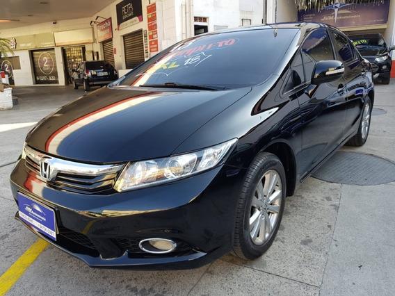 Honda Civic Lxl 1.8 Completo 2013