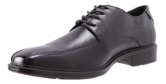 Zapato Cuero Merchant Ii Negro Hush Puppies