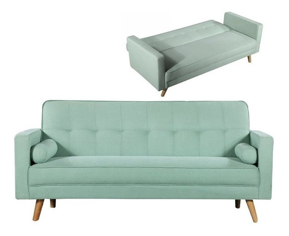 Sofa Cama Matrimonial Moderno Sillon Reclinable 3 Posiciones