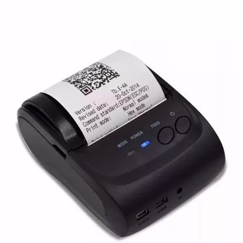 Mini Impressora Termica Bluetooth 58mm Android Ios