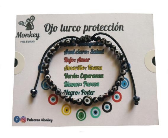 Pulsera De Ojitos Protección Contra Mal De Ojo Y Envidias
