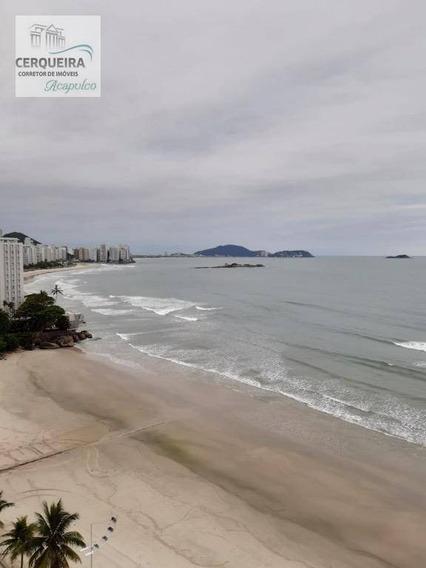 Apartamento Com 4 Dormitórios À Venda, 255 M² Por R$ 1.600.000,00 - Vila Luis Antônio - Guarujá/sp - Ap0072