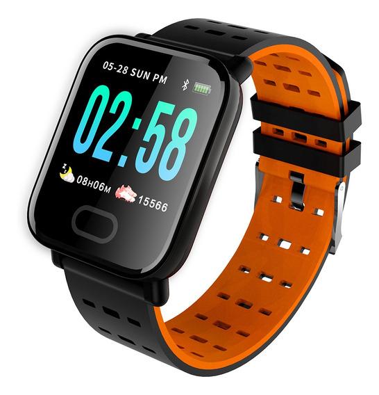 Deporte Reloj Inteligente Sueño Hr Presión Arterial Monitor