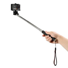 Bastão De Selfie Átrio Para Câmera Actioncam Preto Es080