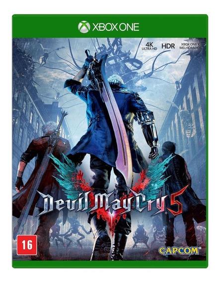 Devil May Cry 5 Xbox One Mídia Física Novo Lacrado Original