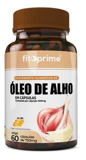 Óleo De Alho 500mg Com 60 Cápsulas Fitoprime