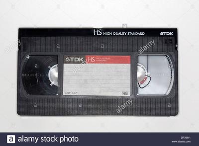 Busco Vhs Grabados De La Television.