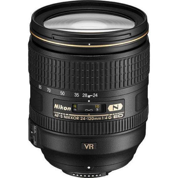 Lente Nikon Af-s Nikkor 24-120mm F/4g Ed Vr Sem Juros