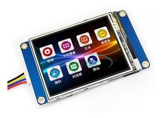 Tela Lcd Nextion 2.4 Tft Hmi 320x240 Screen Arduino Touch