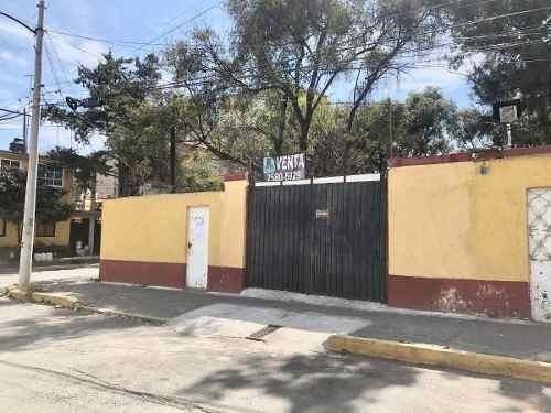 Excelente Terreno En Esquina, Alcaldía Álvaro Obregón