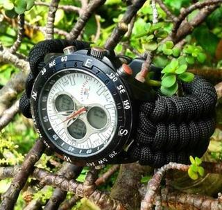 Correa De Paracord Para Reloj
