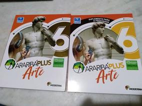 Araribá Plus Arte 6+suplemento Moderna Professor