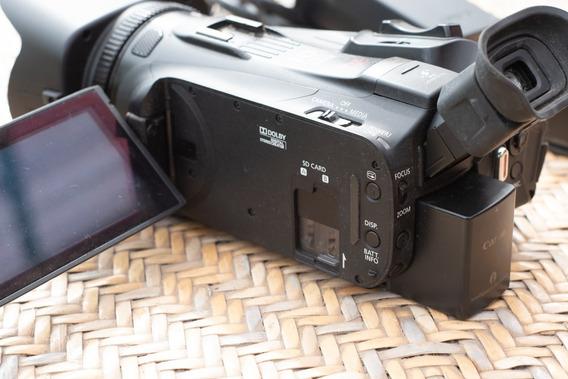 Câmera Filmadora - Canon Legria Hf G30 + 2 Baterias Com Carr