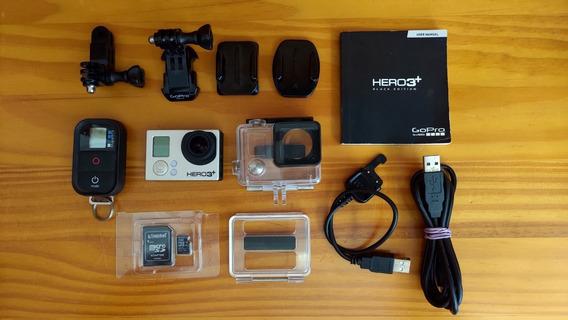 Câmera Gopro Hero3+ - Acessórios - Pouco Uso - Frete Grátis