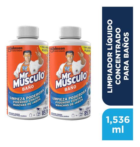 Mr Músculo Limpiador Para Baños - 2 Pack Refill