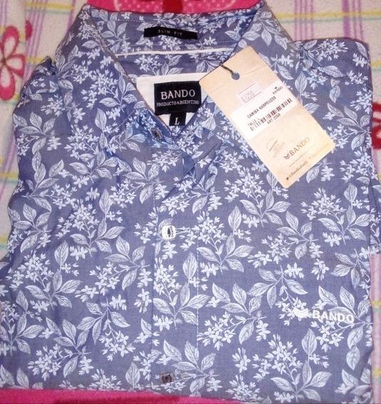 Camisa Marca Bando Original Nueva