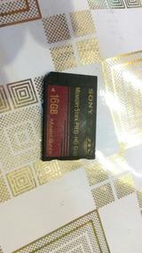 Cartão Sony Memory Stick Pro Hg Duo 16g