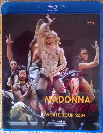 * Bluray Madonna Re-invention Tour Com Legendas Frete Gratis
