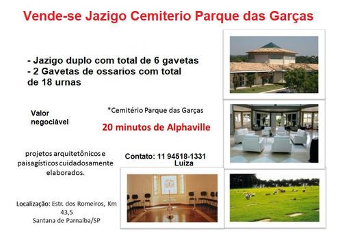 Imagem 1 de 3 de Jazigo No Cemitério Parque Das Graças Em Santana Do Parnaíba