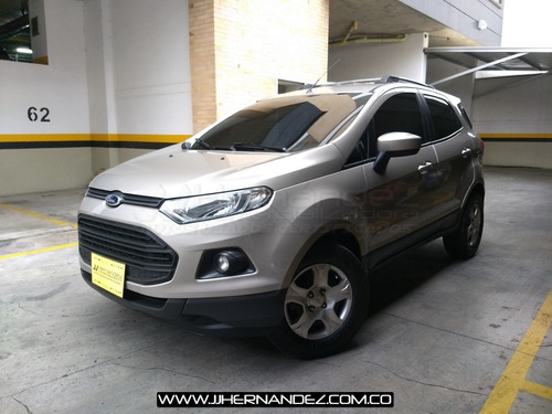 Ford Ecosport 2.0 4x2, Modelo 2015, Mecánica, 2 Airbags