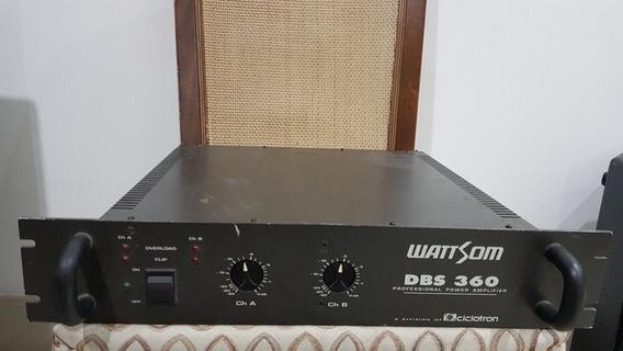 Amplificador De Potência Wattson Dbs 360