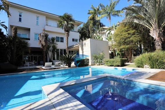 Casa Com 4 Dormitórios À Venda, 778 M² Por R$ 7.000.000 - Residencial Dois (tamboré) - Santana De Parnaíba/sp - Ca0058