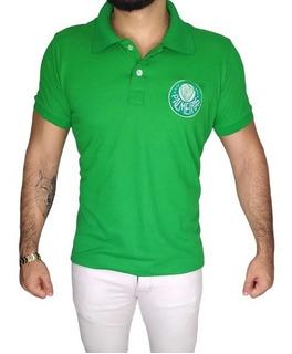 Camisa Polo Palmeira Retrô Cordinha