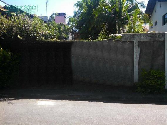 Terreno Residencial À Venda, 250 M² Por R$ 550.000 - Parque Renato Maia - Guarulhos/sp - Te0049