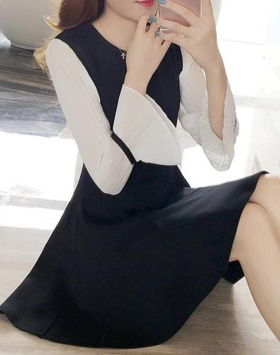 Imagen 1 de 4 de Vestido Negro Talla S Nuevo Importado En Stock