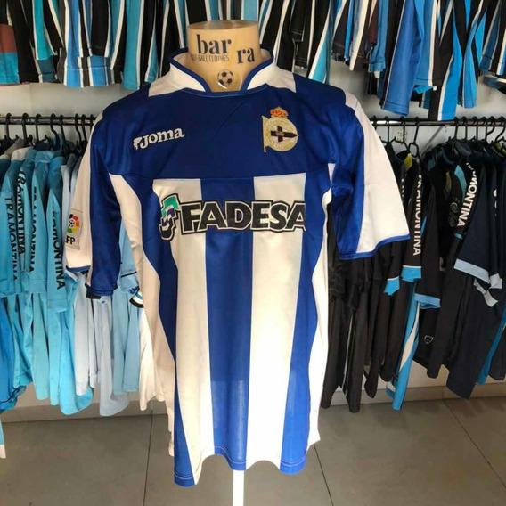 Camiseta La Coruña Tamanho G, Usada