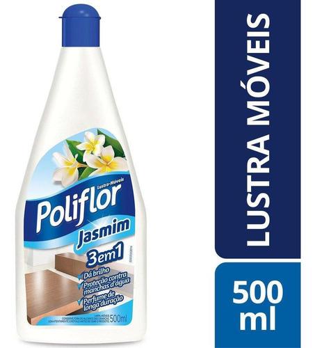 Lustra Móveis Perfumado Poliflor 500ml Jasmim