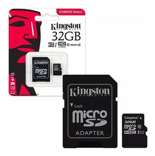 Micro Sd Memorias Kingston 32 Gb