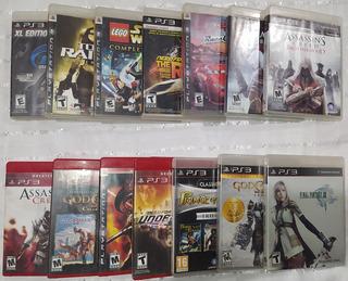 Juegos Playstation 3 (físicos)