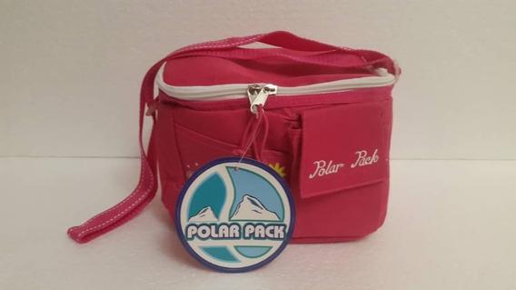 Loncheras Polar Pack Con Envases De Plastico