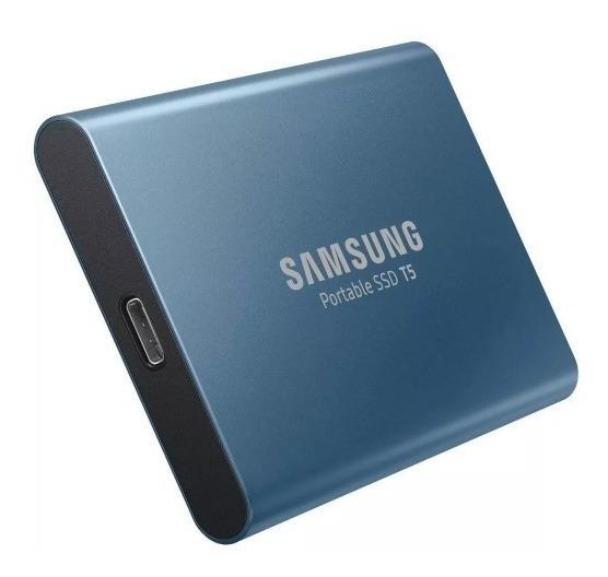 Hd Ssd Externo 500gb Samsung T5 Usb 3.1 Novo