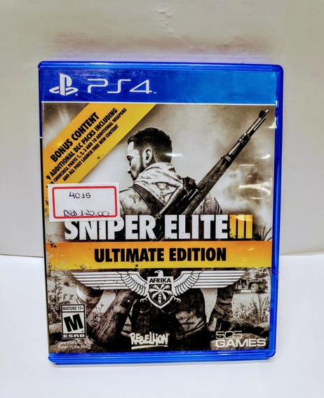 Ps4 Sniper Elite Lll/ Ultimate Edition