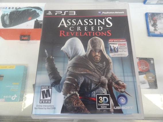 Assassins Creed Revelations + Assassins Creed 1 Ps3 Usado