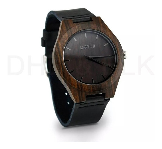 Relógio Unissex Bambu Madeira. Oct17