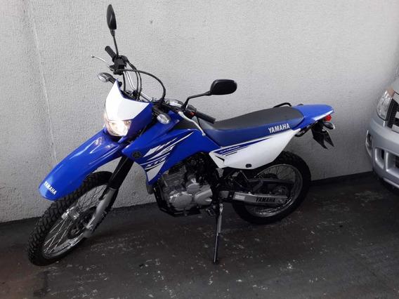Yamaha Xtz 250 Lander 2018 Azul Na Garantia