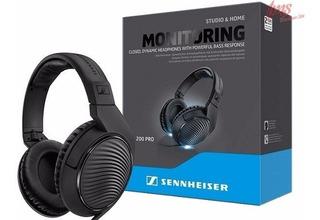 Sennheiser Hd200 Pro Auricular De Estudio Cerrado