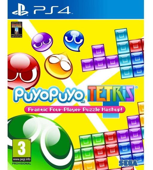 Puyo Puyo Tetris Ps4 Mídia Física Lacrado Envio Rápido
